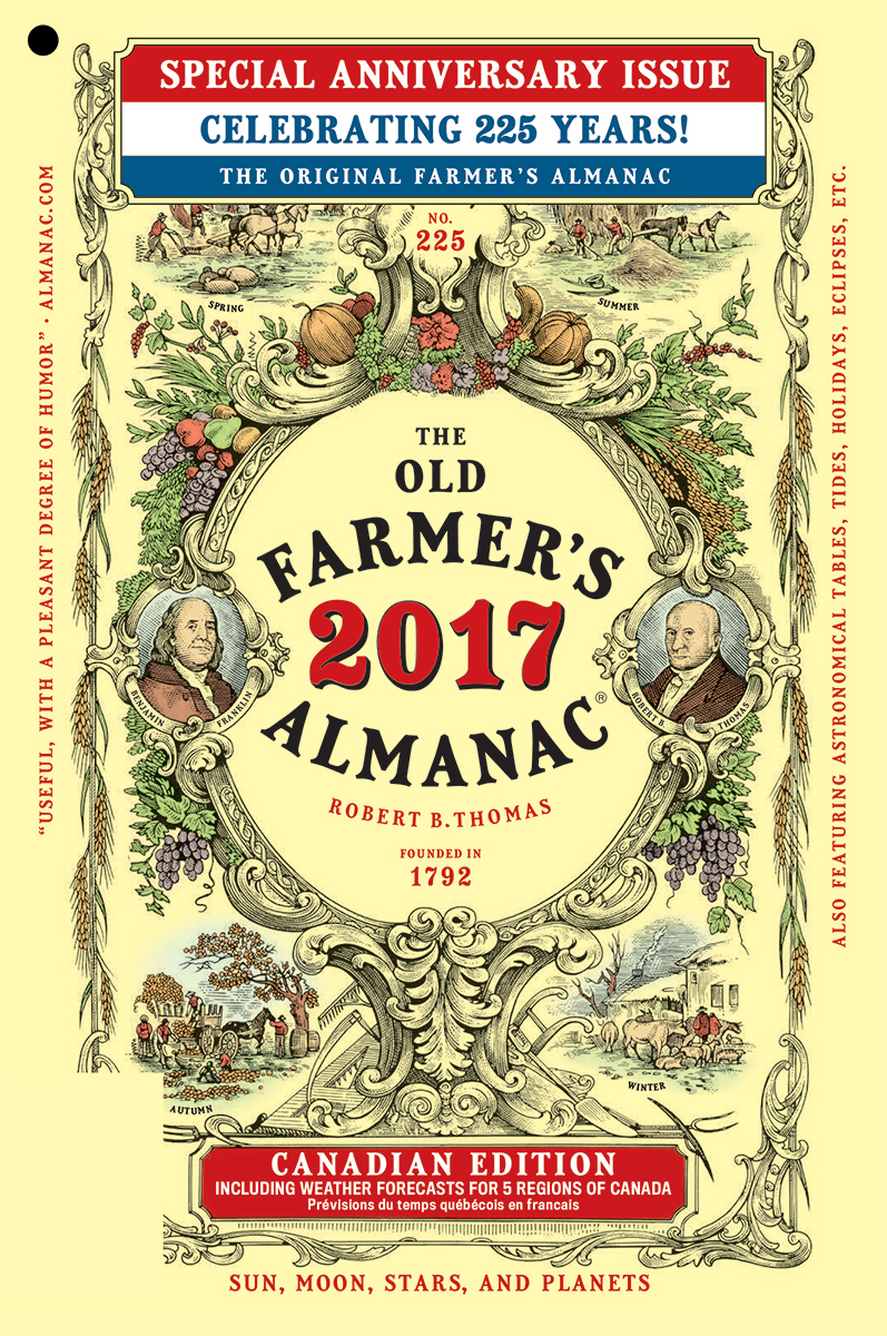 The  Old Farmers Almanac The Old Farmers Almanac - Weather map of us and canada
