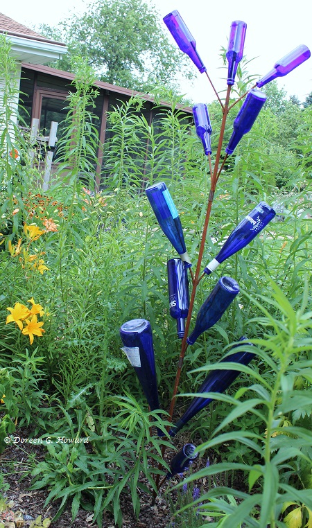 Great Bottle Trees: Mystical Color For The Garden