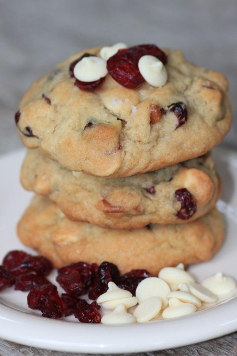 Dried Cranberry White Chocolate Chip Cookies | The Old Farmer's ...