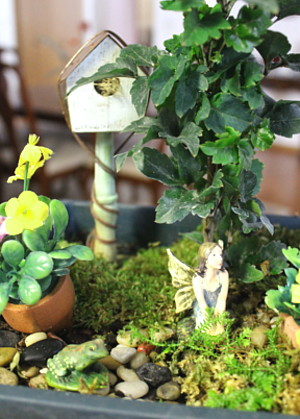 Gardening in Miniature Fairy Gardens Tiny Secret Gardens | The Old ...