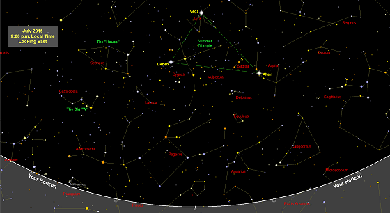 Sky maps (star charts) free each month. Printable. Find ...