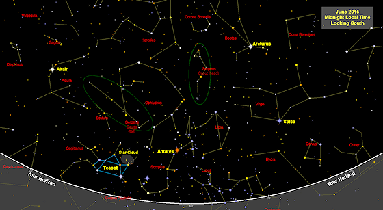 Sky maps (star charts) free each month  Printable  Find