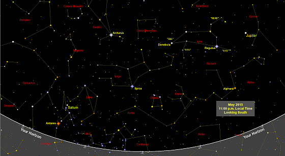 Sky Chart Free: Sky maps (star charts) free each month. Printable. Find ,Chart
