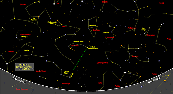 sky maps  star charts  free each month  printable  find