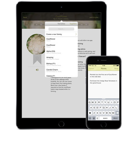Mobile Garden Planner App from The Old Farmers Almanac The Old