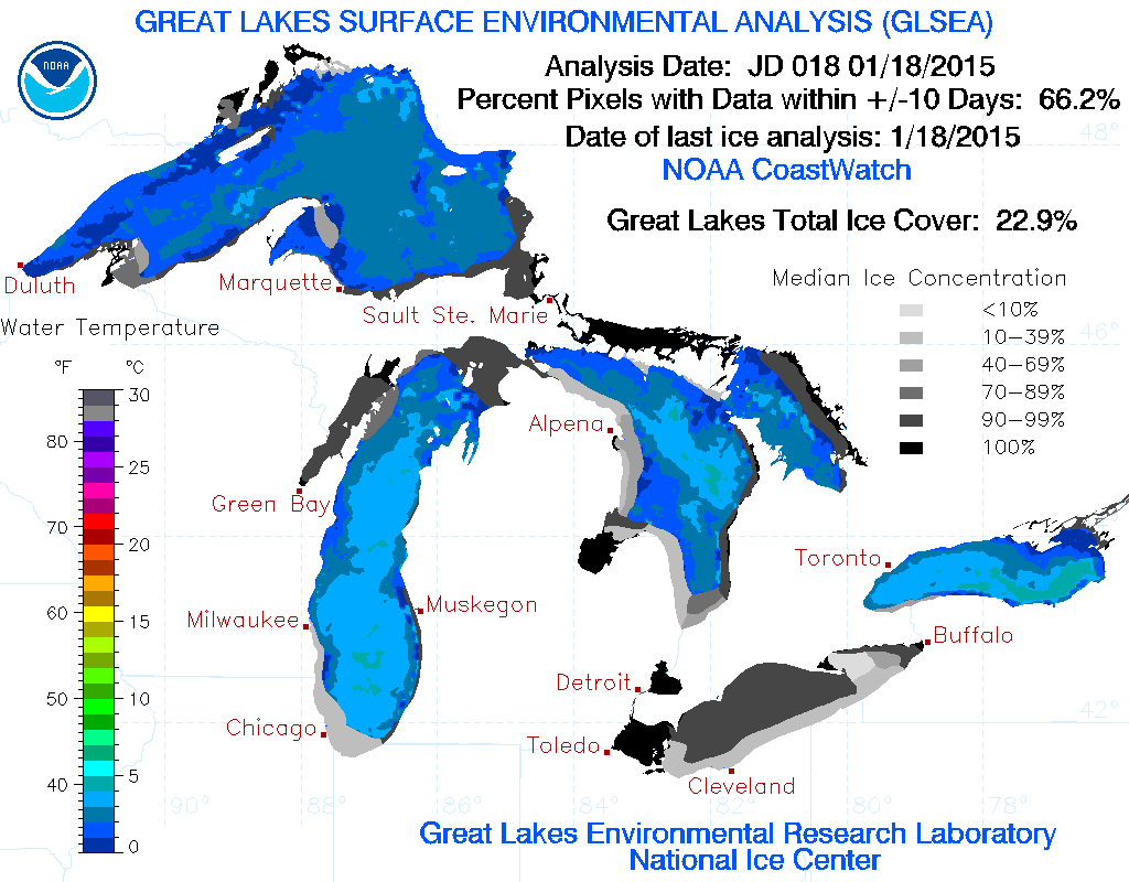 Lake Erie World Easy Guides Recommended Binational Phosphorus - Us map with great lakes