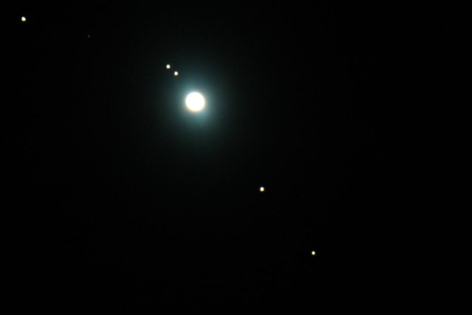 Featured Photo: Jupiter With Moons
