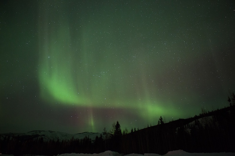 Northern Lights are Green