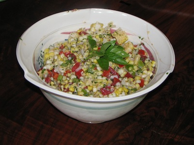 Summer Salsa Salad