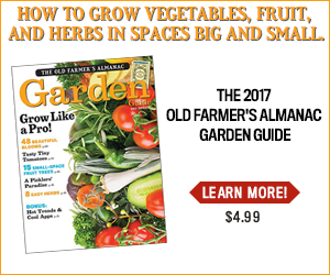old farmers almanac garden guide
