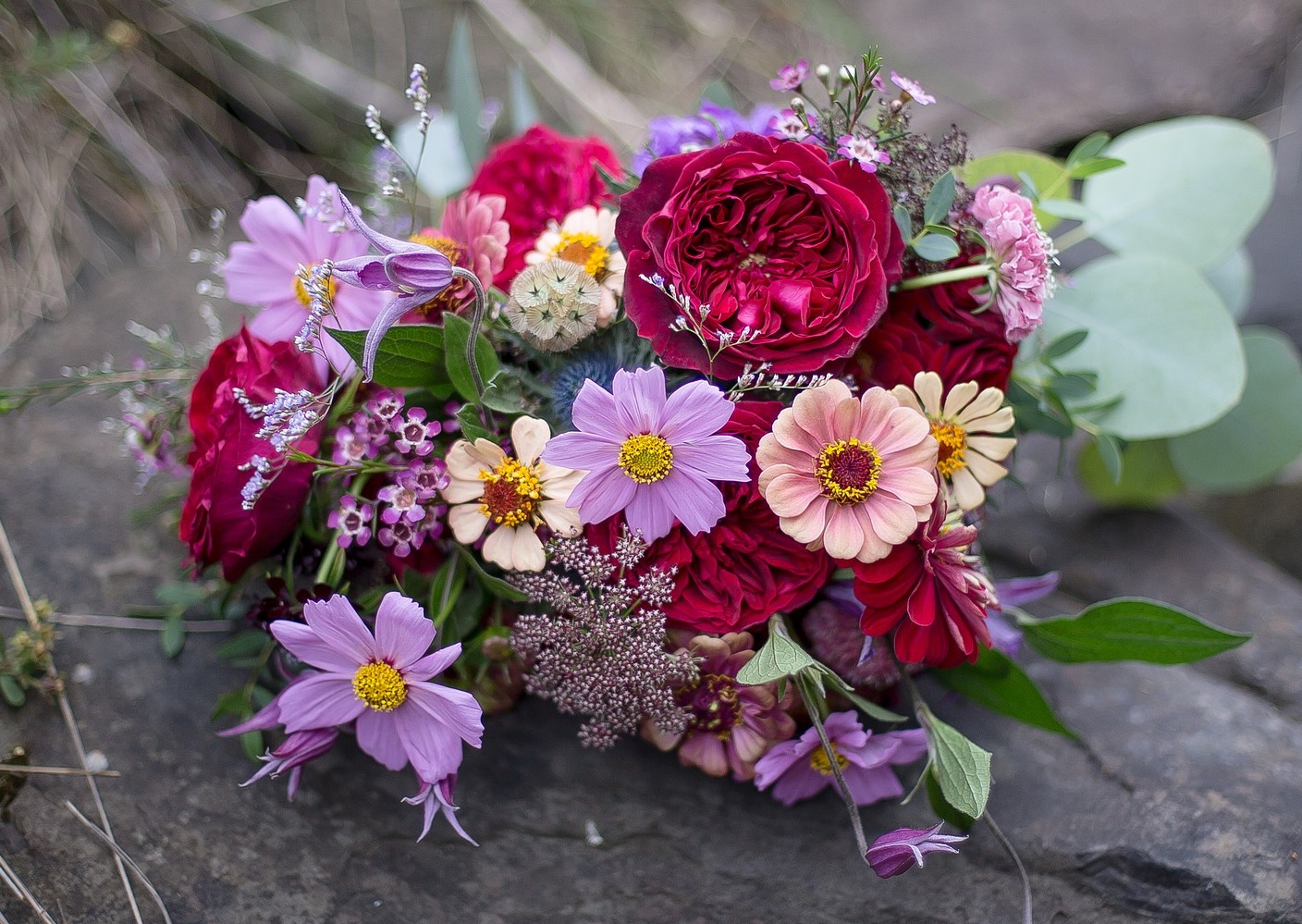 How to Make a Flower Bouquet | The Old Farmer's Almanac