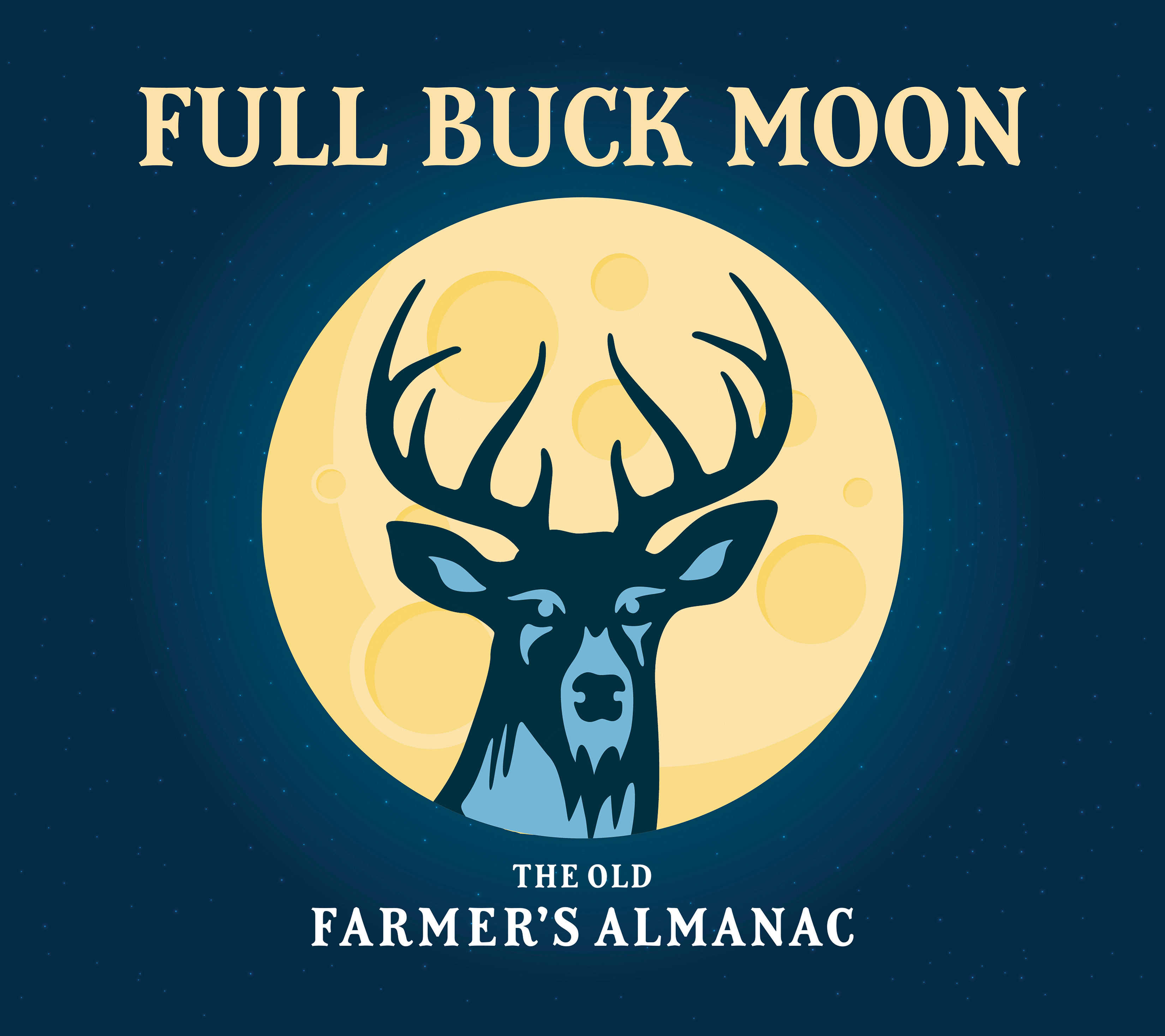 Full moon for july 2018 the full buck moon the old farmers almanac nvjuhfo Image collections
