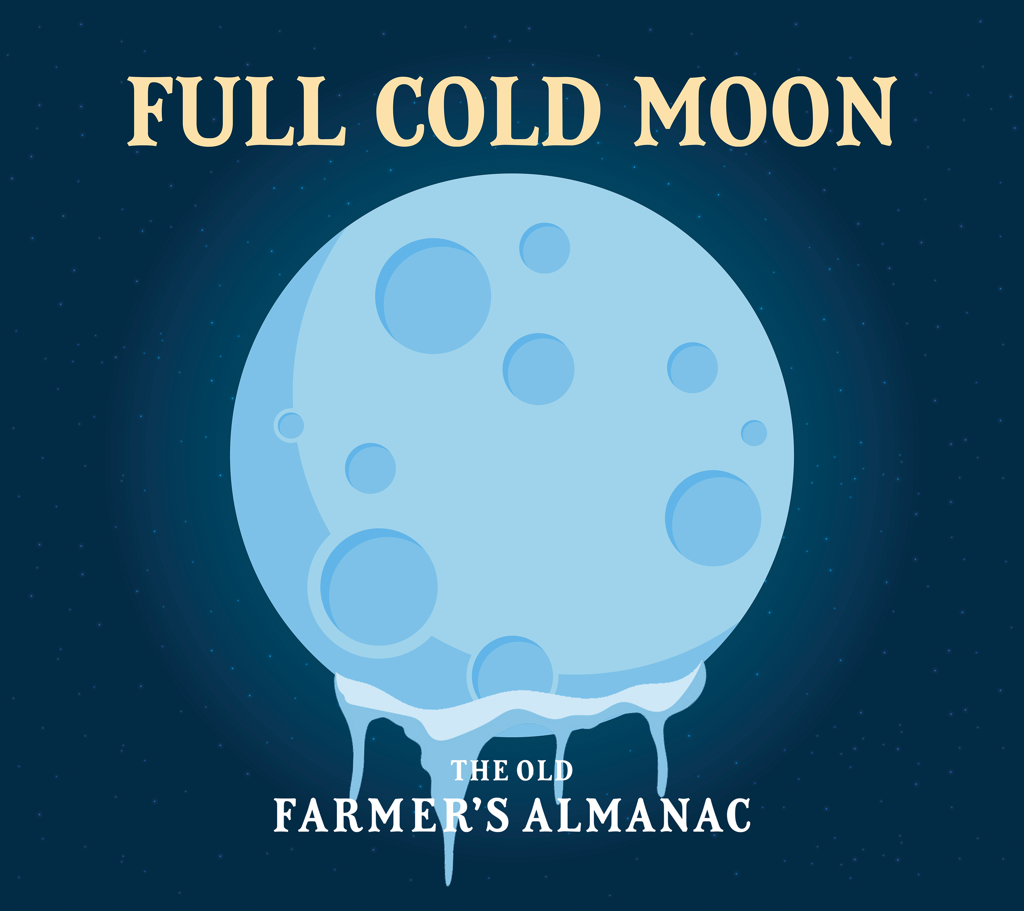 Full Moon For December 2017 The Full Cold Moon The Old Farmers
