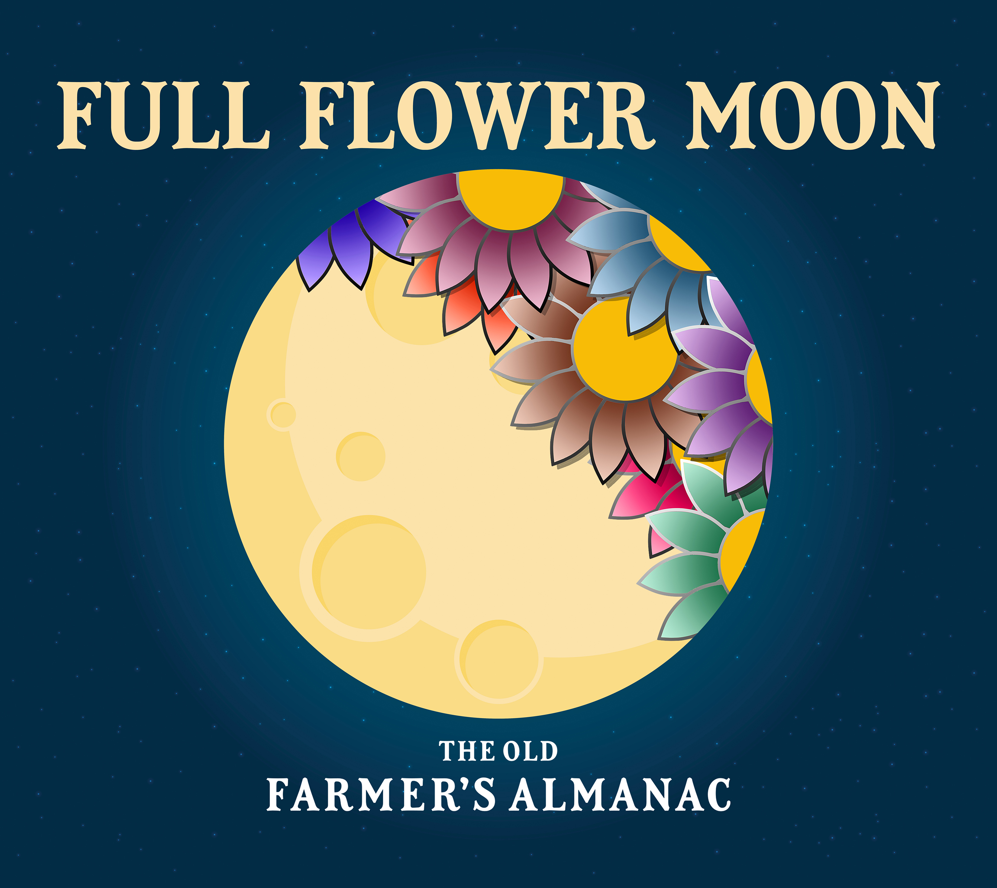 Moon Planting Calendar 2022.Full Moon In May 2021 Flower Moon Supermoon And Eclipse The Old Farmer S Almanac