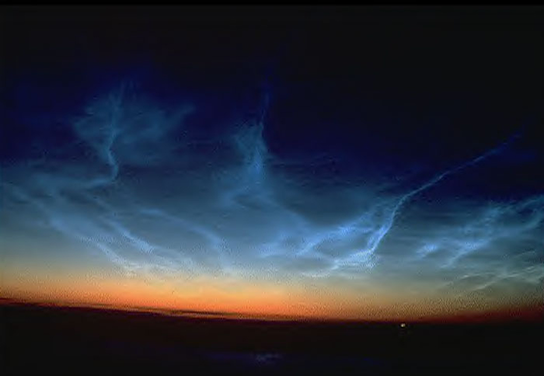 Summer Solstice Sunset >> Noctilucent Cloud Facts| The Old Farmer's Almanac