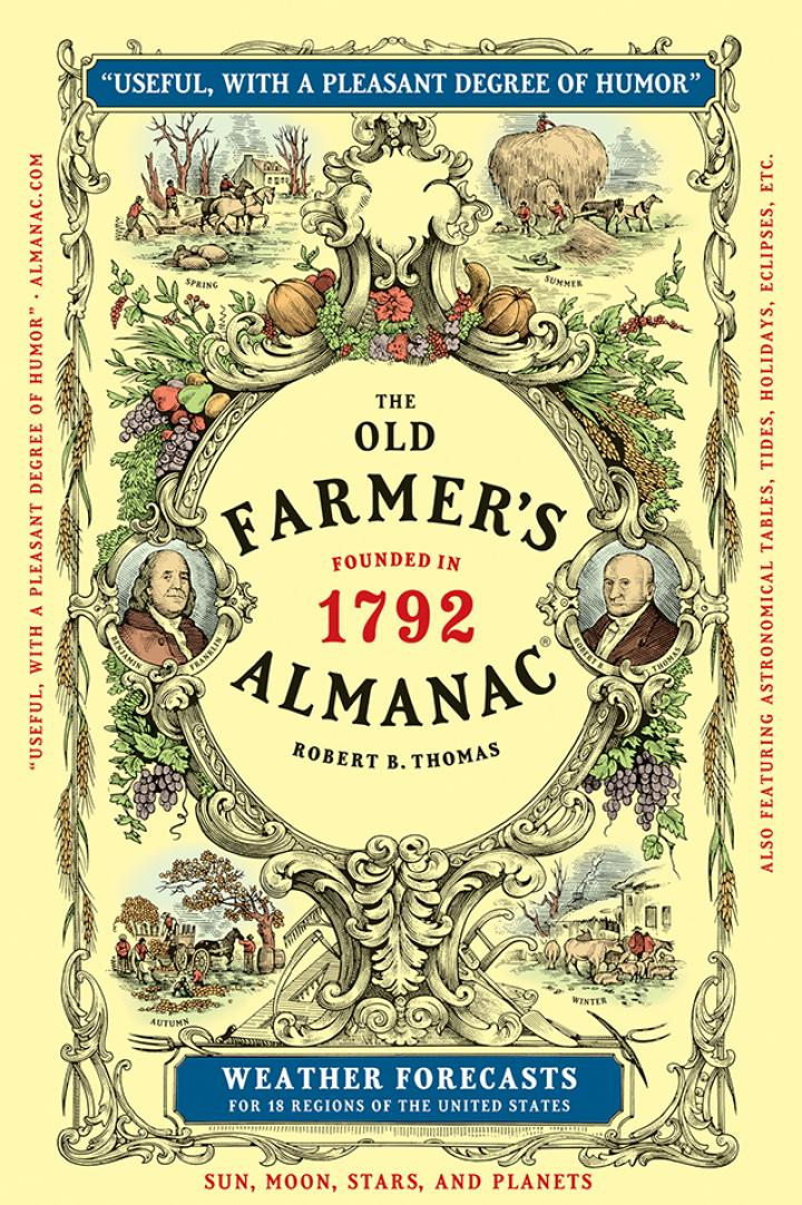 The History Of The Old Farmer S Almanac Editors The Old