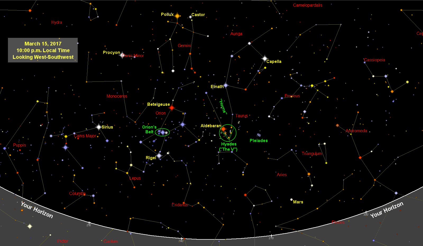 Sky Map Star Chart May Old Farmers Almanac - Star sky map over eastern us