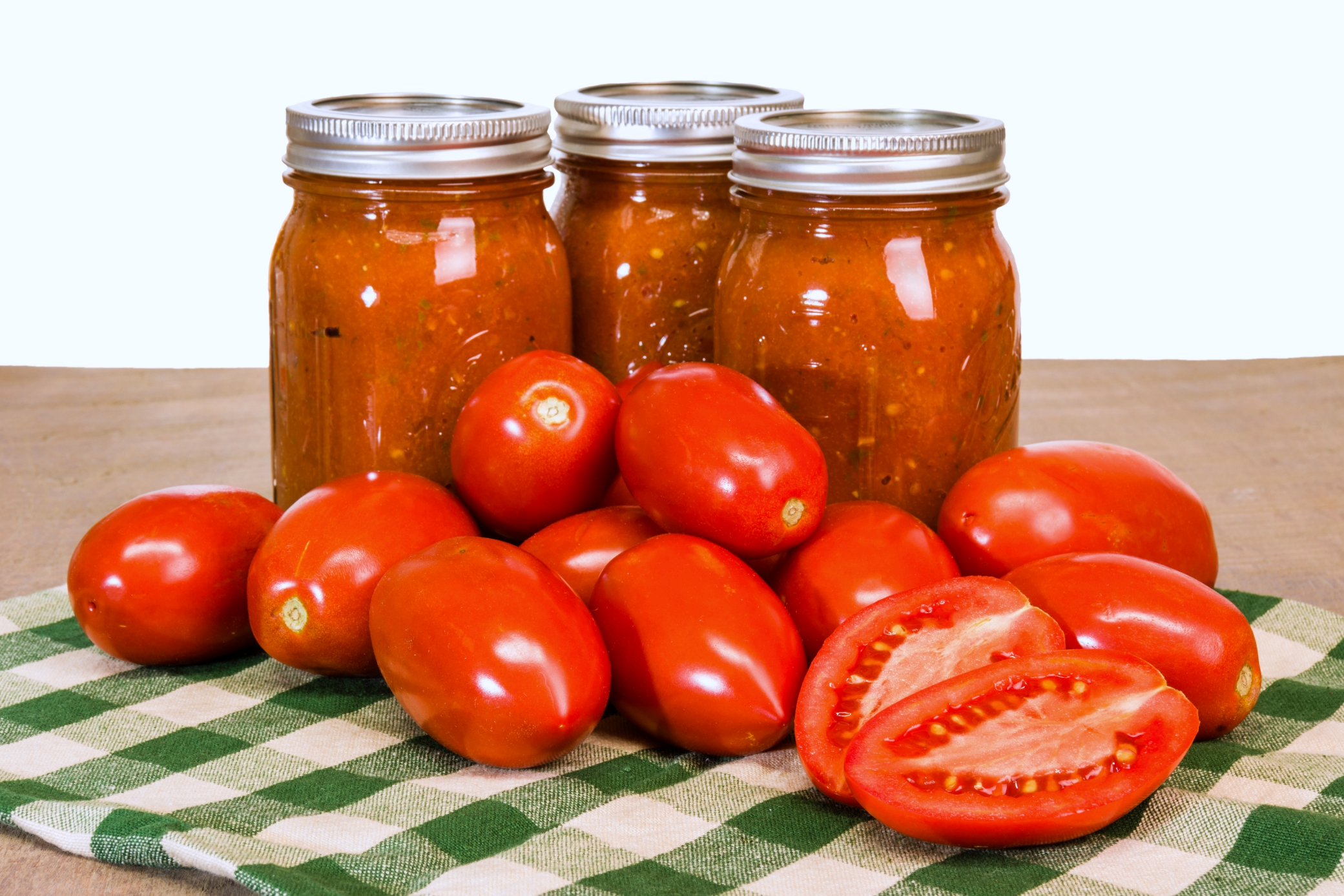 Homemade Canned Tomato Sauce Recipe Canning Tips The Old