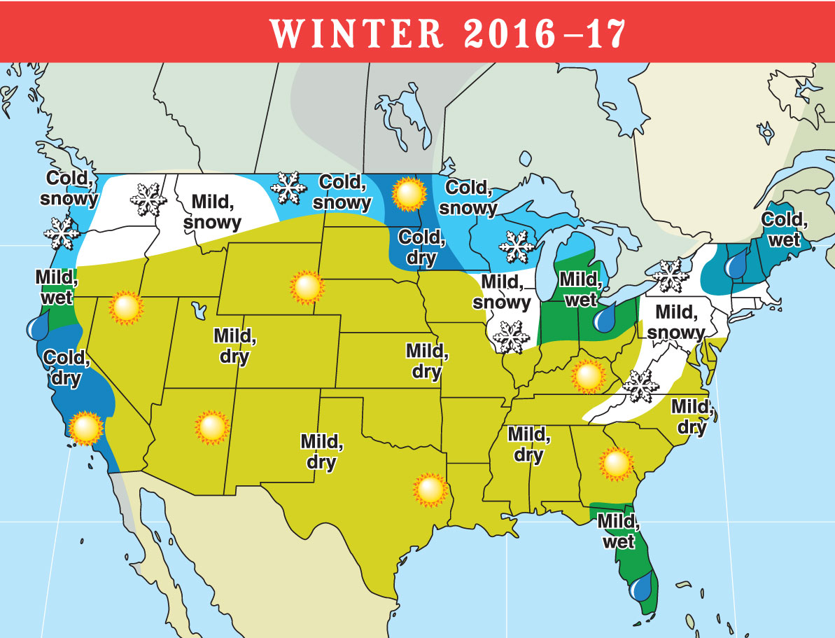 LongRange Weather Forecast For US And Canada Old - Latest us weather map