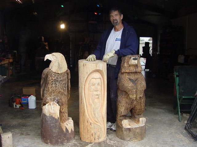 Chain saw chainsaw carving art classes the old farmer s