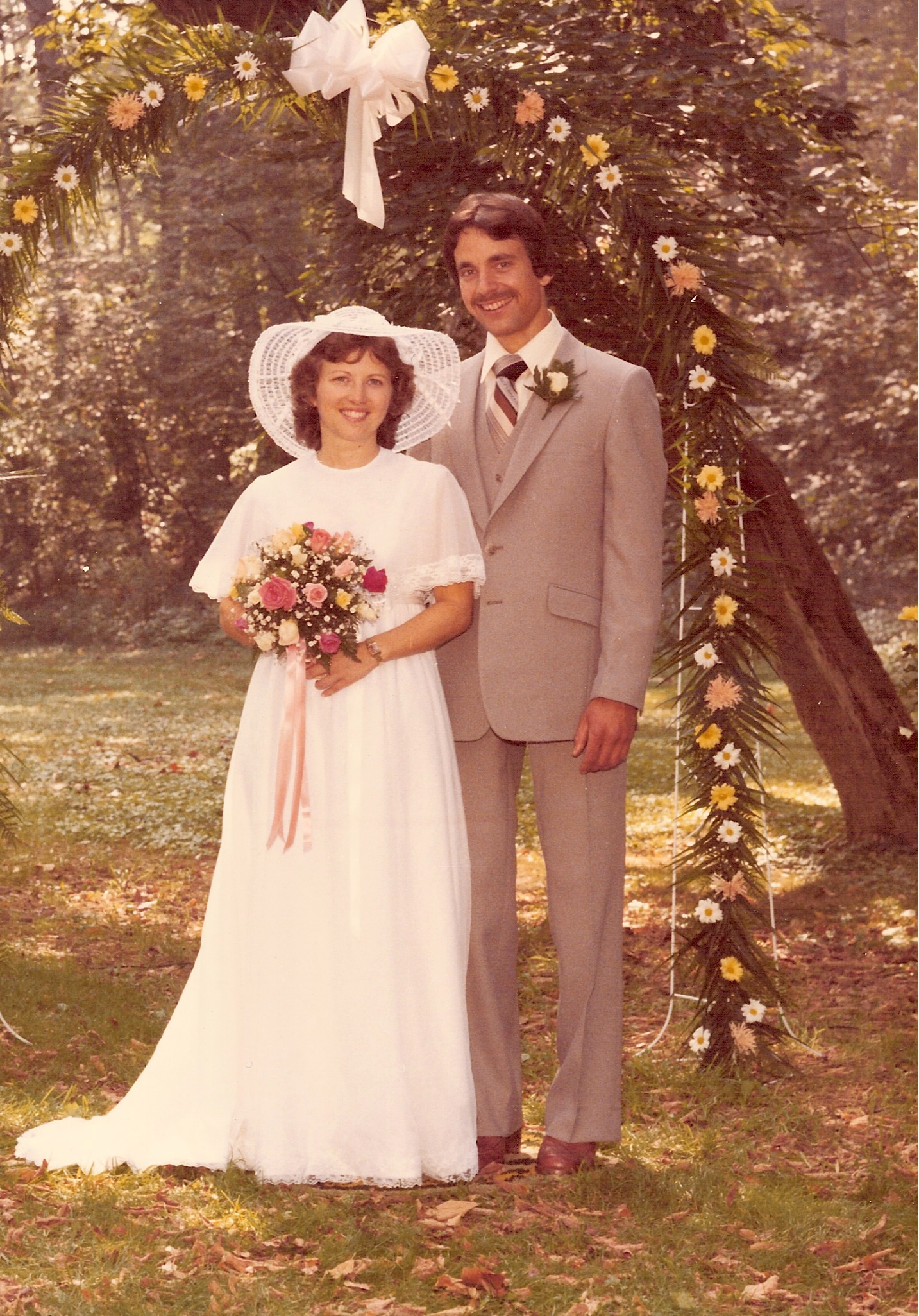 OUR WEDDING DAY - SEPT. 6, 1980 - Lancaster, PA.