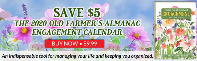 The 2020 Old Farmer's Almanac Engagement Calendar