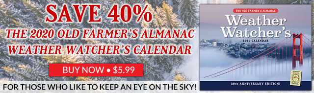 The 2020 Old Farmer's Almanac Weather Calendar