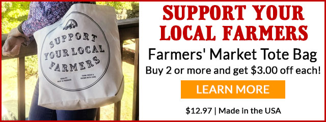 Support Farmers Tote Bag > Learn More