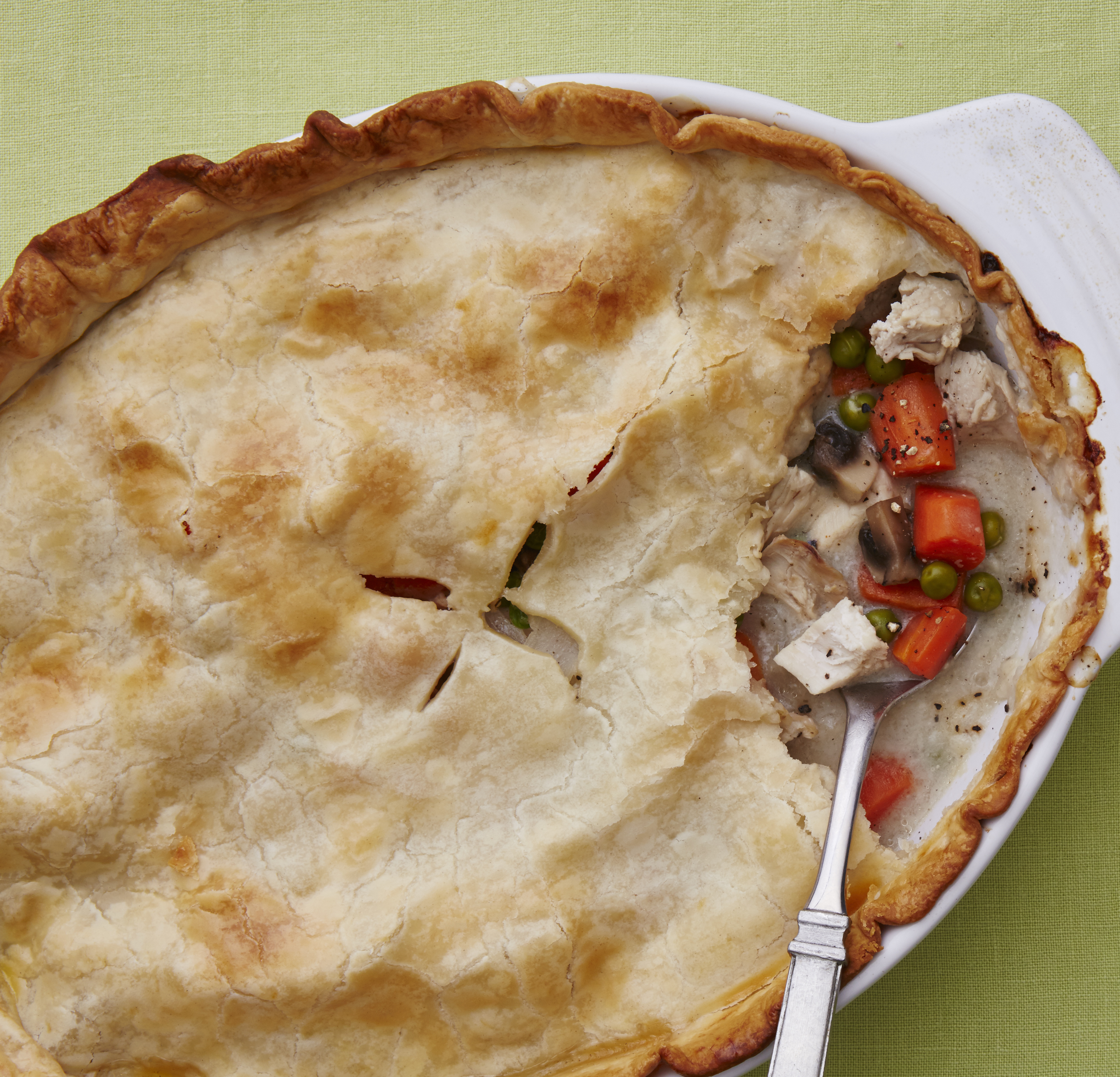 Comfort Food Recipes From The Old Farmer S Almanac: Chicken Pot Pie With Vegetables Recipe