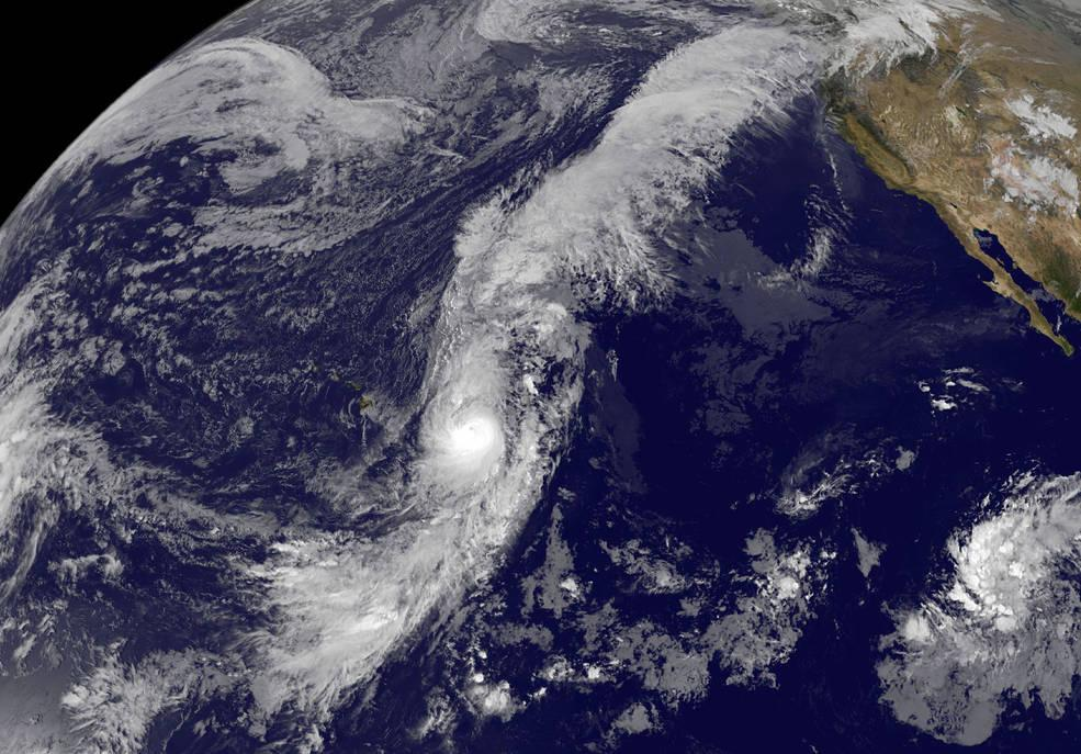Tropical Storms hit Alaska