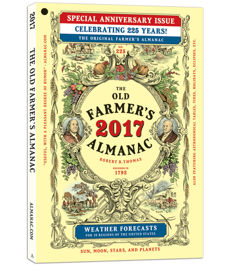 2017 Old Farmer's Almanac Cover 3D