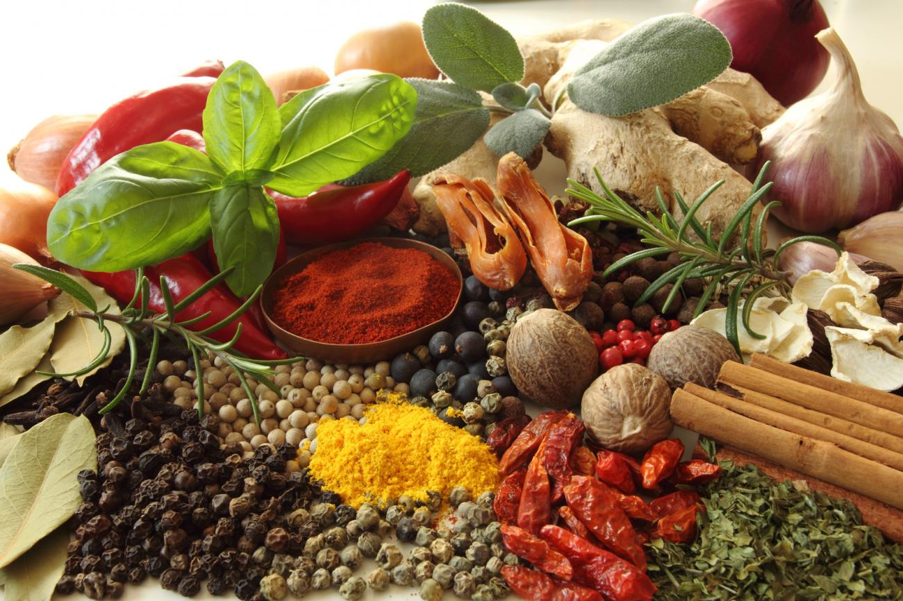 Herbs and Spices for Optimal Health