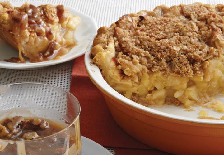 Apple Crumb Pie for Thanksgiving