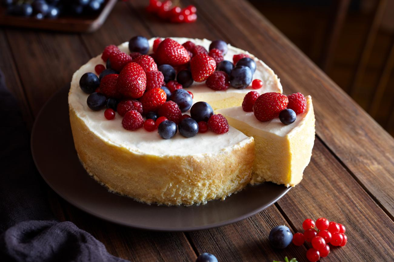 Red, White, Blue Cheesecake