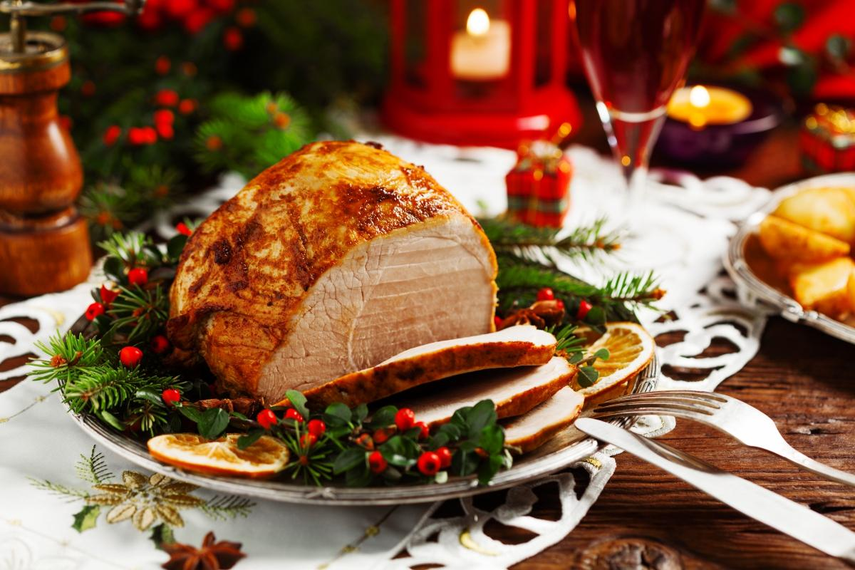 Christmas dinner recipes main dishes sides and soups the old christmas ham forumfinder Choice Image