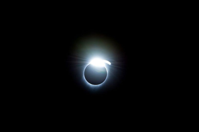 2017 Total Solar Eclipse Diamond Ring
