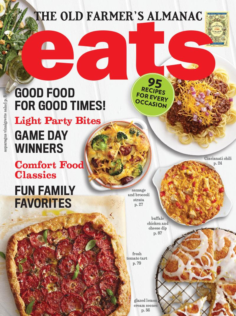 Eats magazine style cookbook the old farmers almanac 95 recipes good food for good times forumfinder Image collections