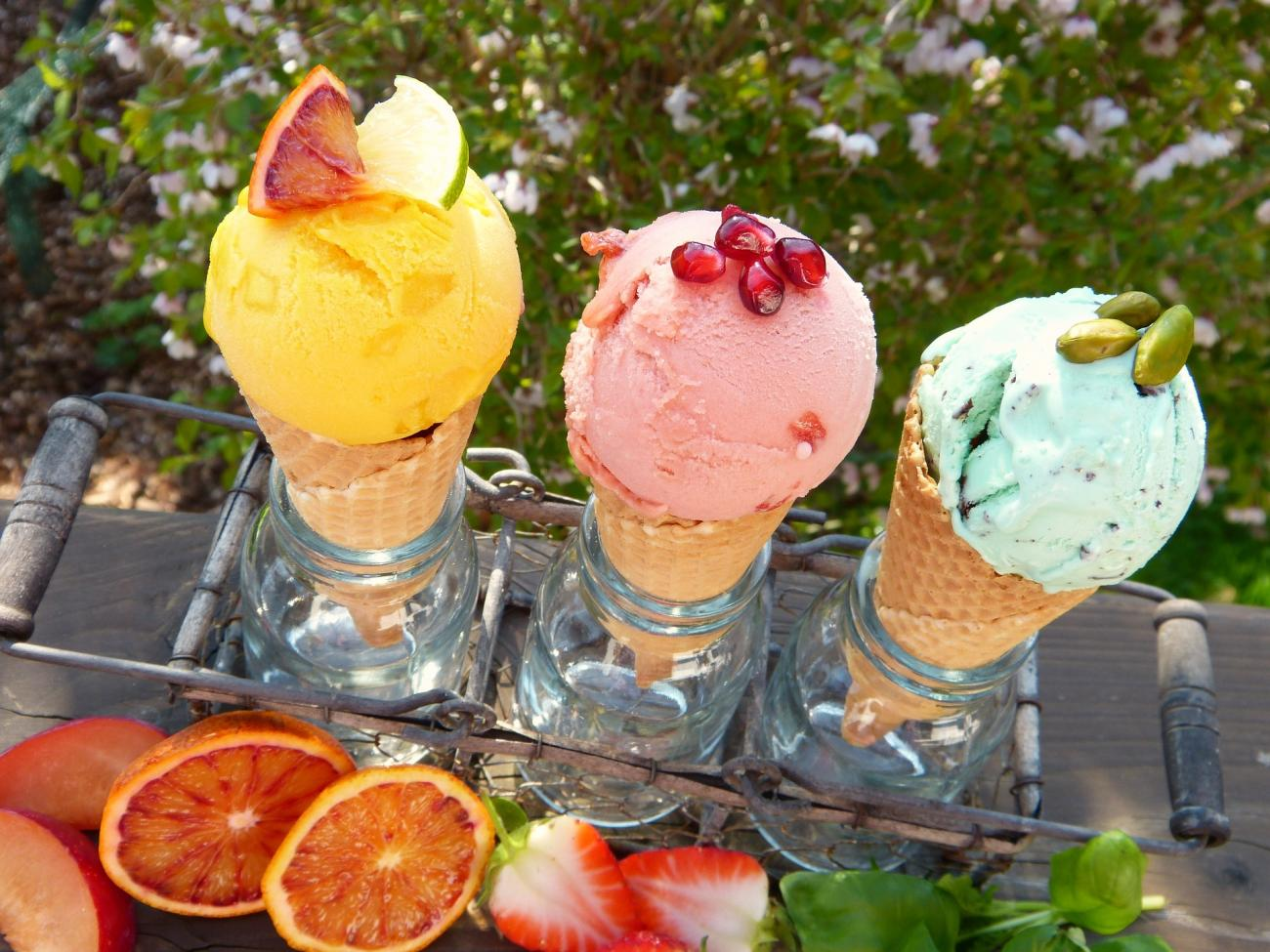 Ice Cream in the Hot Summer