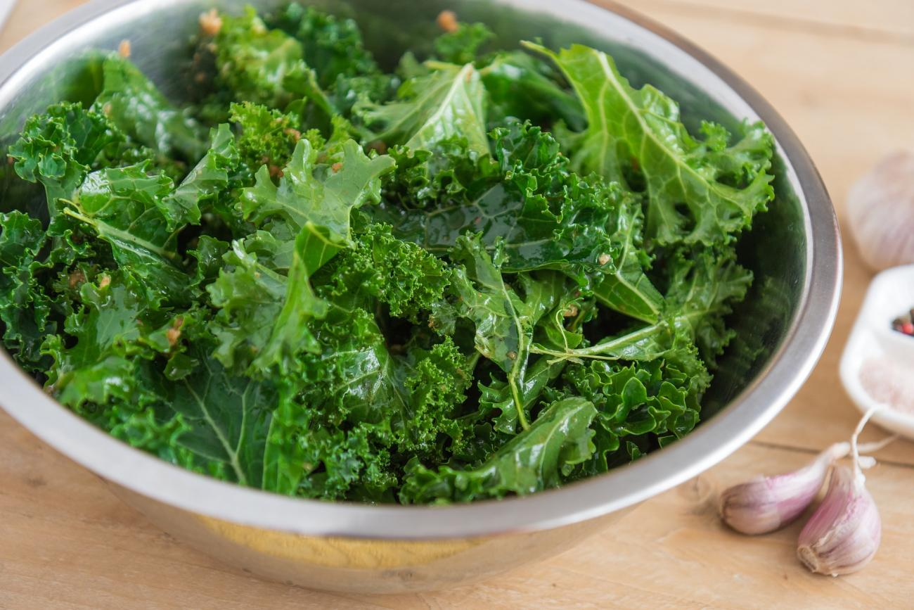 Kale in Bowl