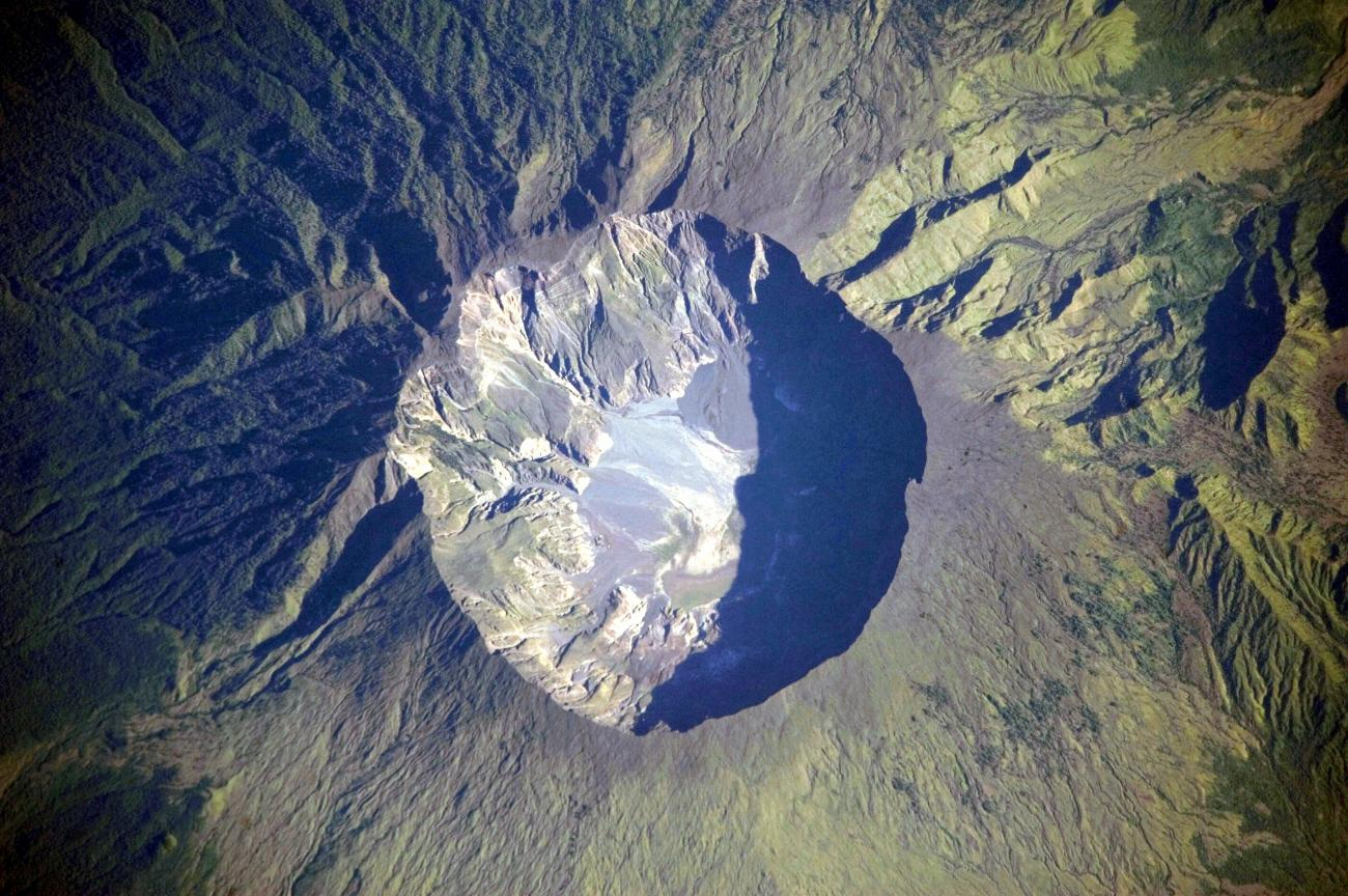 Mount Tambora - NASA