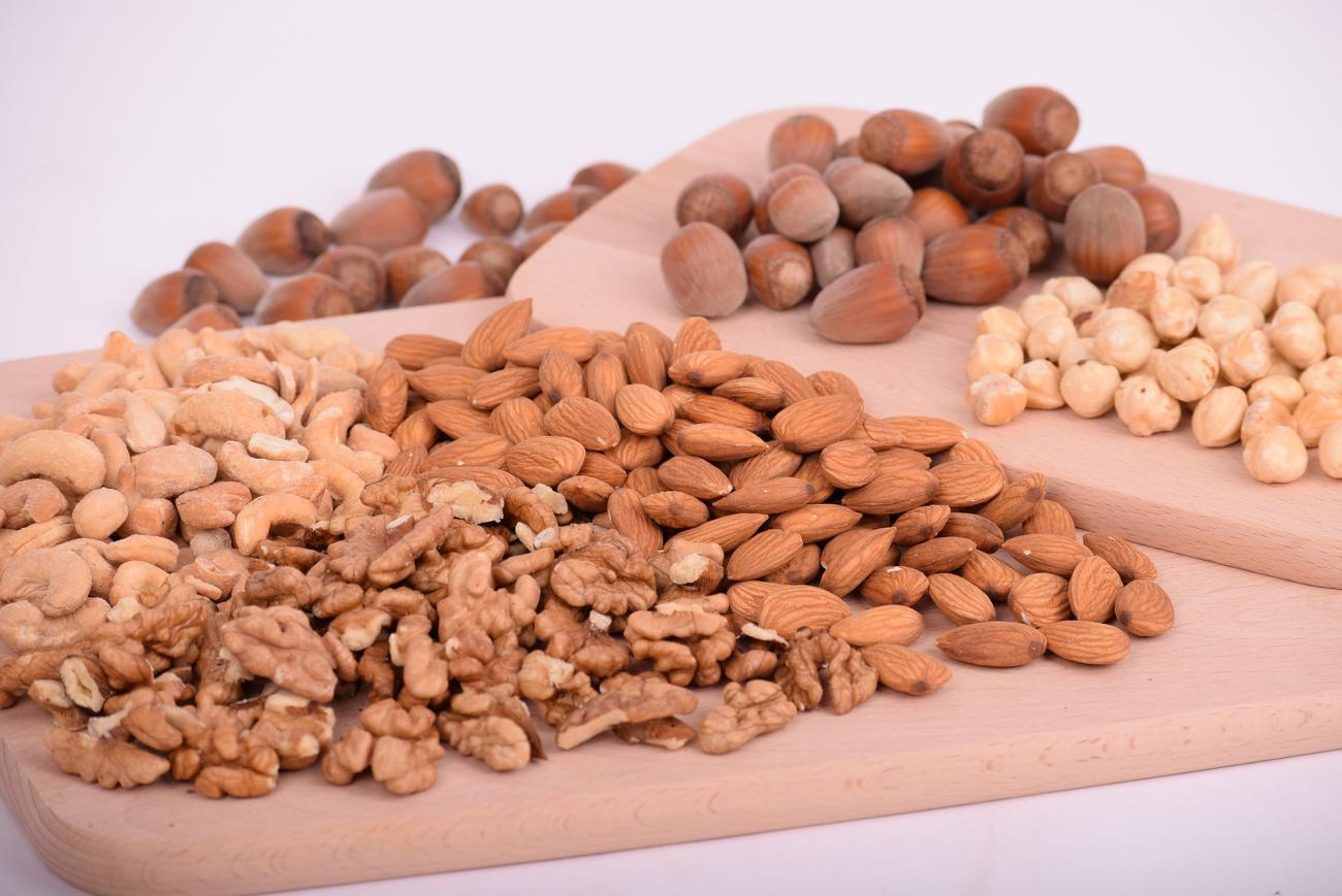 Walnuts, Almonds, and Nuts