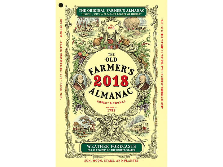 2018 Almanac Soft Cover (Flat)