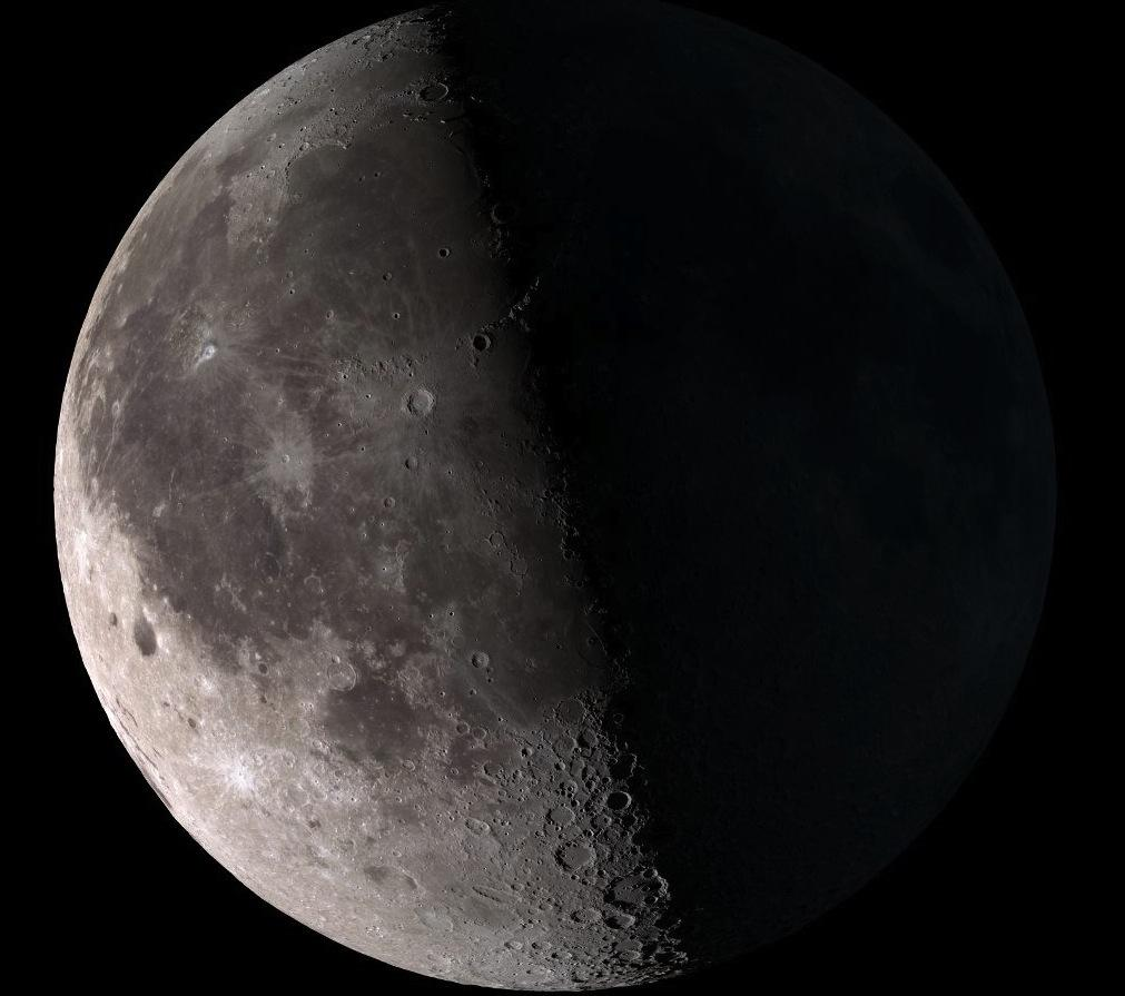 Half Moon: Third-Quarter Moon Phase