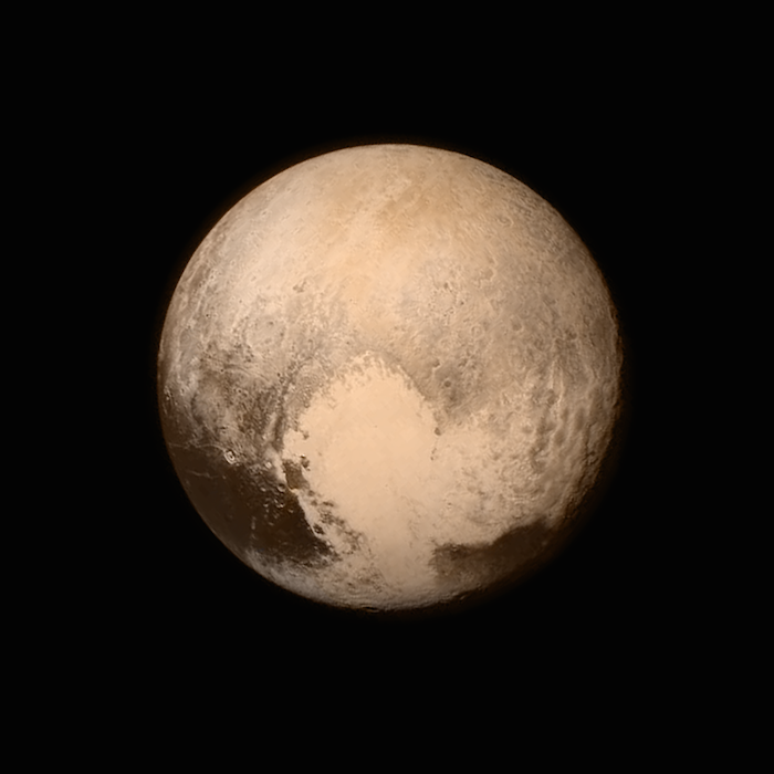 Pluto, The Dwarf Planet