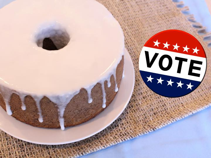Election Day Cake--Vote for Cake!