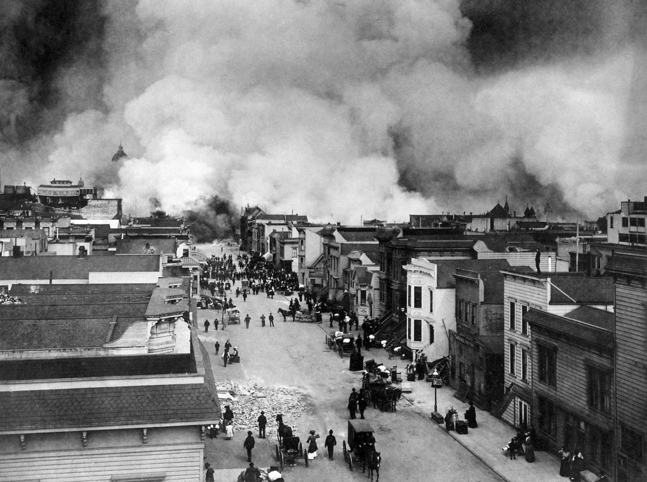 Remembering the 1906 San Francisco Earthquake-HD Chadwick, Wikimedia Commons