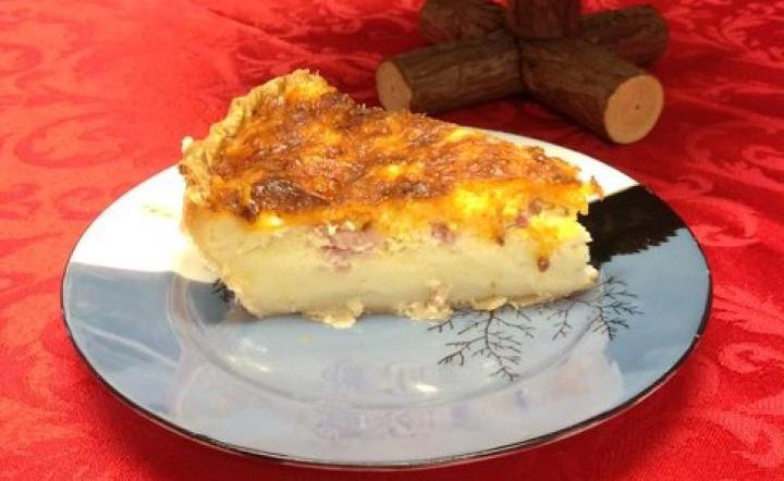 A Hungry Man's Quiche