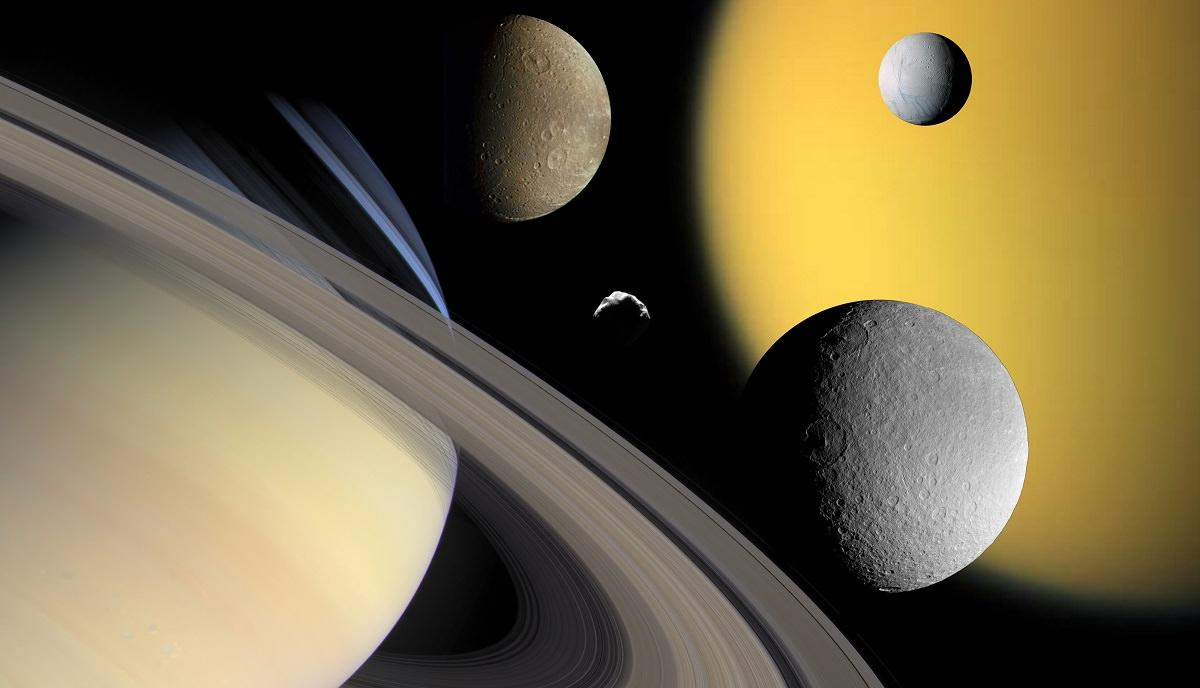 Saturn Collage