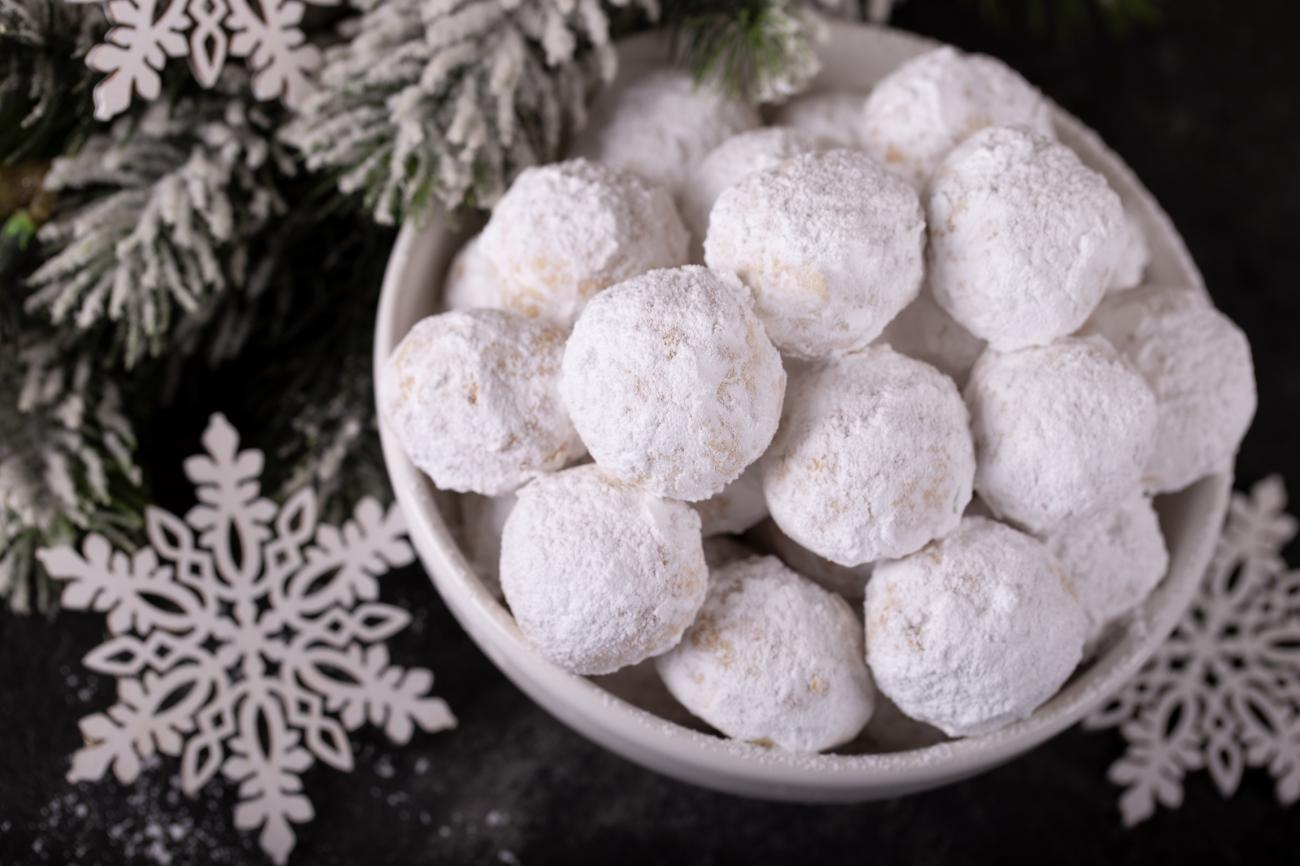 Recipe for Snowball Cookies