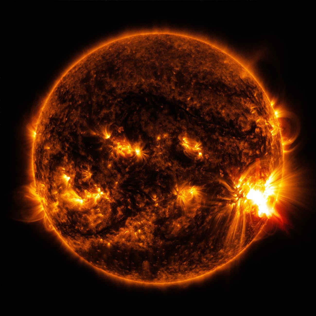 Space Weather and Solar Flares